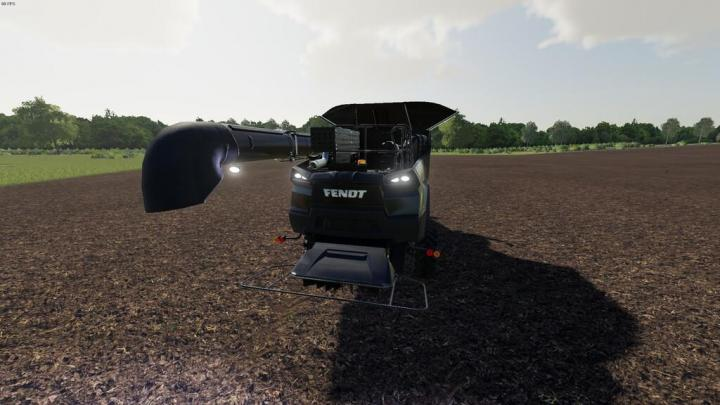 FS19 - Pipe Light Combined With Back Work Light V1