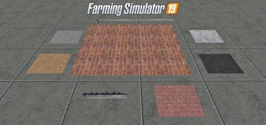 Photo of FS19 – Placeable Brick Pack V1