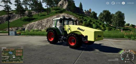 Photo of FS19 – Rau Fronttank 2200 Liter V1.0.0.1