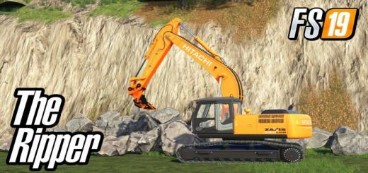 Photo of FS19 – Ripper R115 For Hitachi Excavator V1