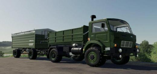 Photo of FS19 – Rmt D-754 Truck Pack V1