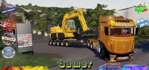 Photo of FS19 – Scania R1000 Liebherr V1.5