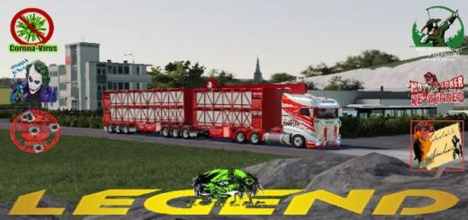 Photo of FS19 – Scania R1000 Mustang V1.5