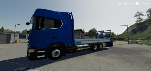 Photo of FS19 – Scania S580 6X2 V1.3.0.3