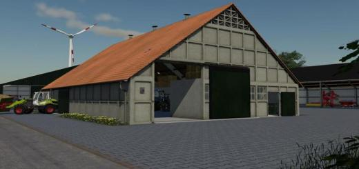 Photo of FS19 – Schokbeton Shed V1