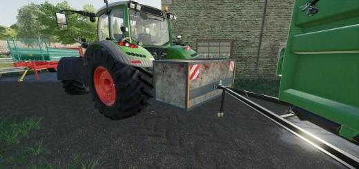 Photo of FS19 – Selfmade Weight V1.0.0.2