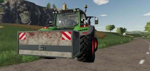 Photo of FS19 – Selfmade Weight V1