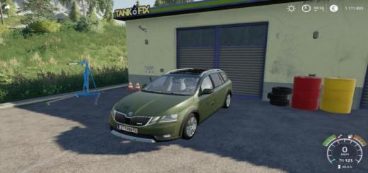 Photo of FS19 – Skoda Octavia Scout 2017 V1