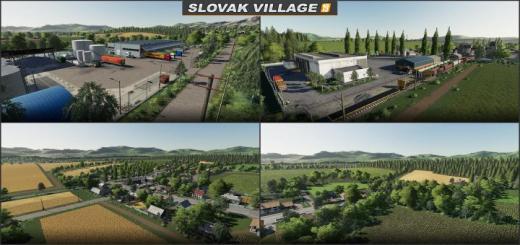 Photo of FS19 – Slowakisches Dorf Map V1.2