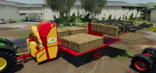 Photo of FS19 – Straw Blower Gyrax Big Confort V1