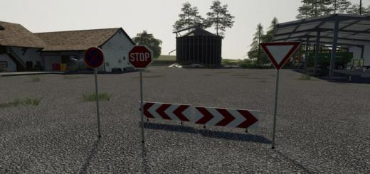 Photo of FS19 – Streetsigns V1