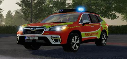 Photo of FS19 – Subaru Forester Fire Brigade Kdow Skin V1.1