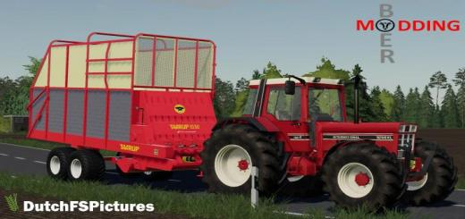 Photo of FS19 – Taarup 1030 Trailer V1