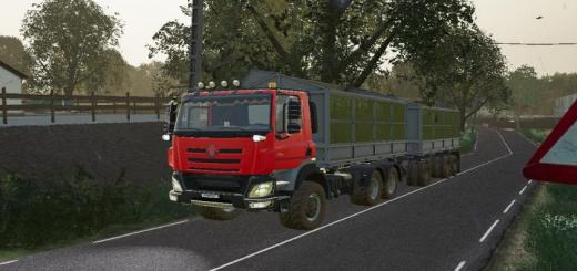 Photo of FS19 – Tatra Phoenix E6 V1