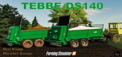 Photo of FS19 – Tebbe Ds-140 V1