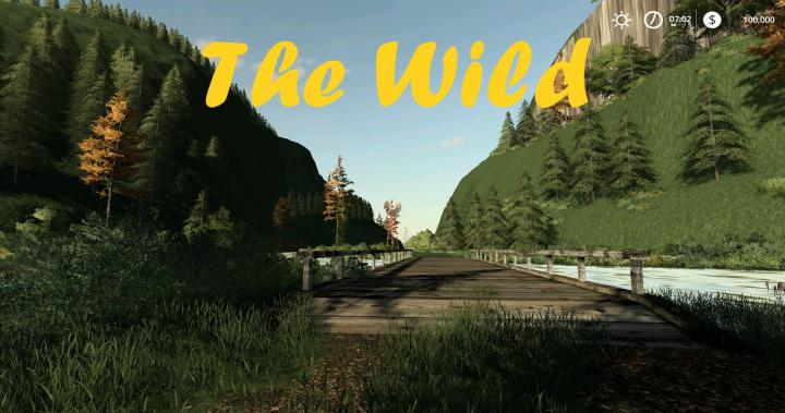 FS19 - The Wild Map V004