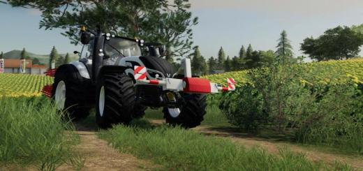 Photo of FS19 – Tow Bar Holder And Towbar V1.1
