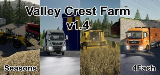 Photo of FS19 – Valley Crest Farm 4X Map V1.4