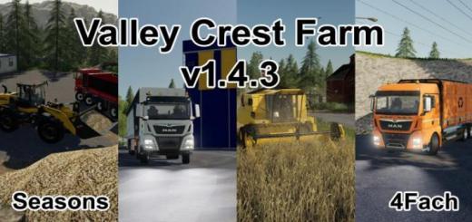Photo of FS19 – Valley Crest Farm 4X V1.4.3