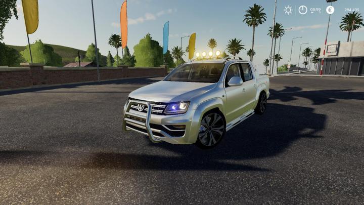 FS19 - Volkswagen Amarok V2