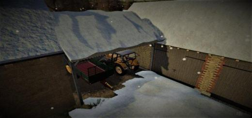 Photo of FS19 – Wooden Shed V1