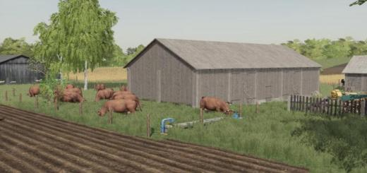 Photo of FS19 – Wooden Sheds V1.0.0.3