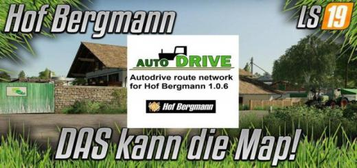 Photo of FS19 – Autodrive Network For Hof Bergmann V1.0.6