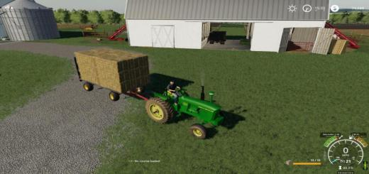 Photo of FS19 – Autoload Hay Wagon V1