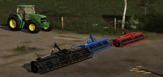 Photo of FS19 – Bomer Frontcultivator V1.0.0.1