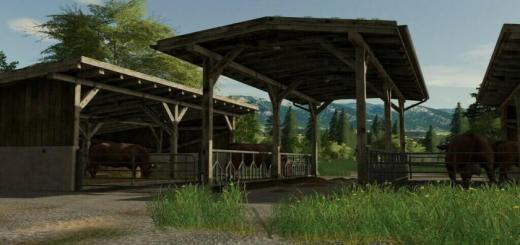 Photo of FS19 – Cattle Stable V1.1