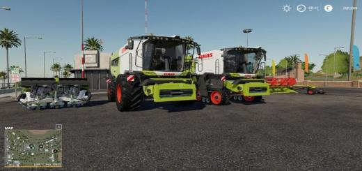 Photo of FS19 – Claas Lexion 6700 Pack V1.1