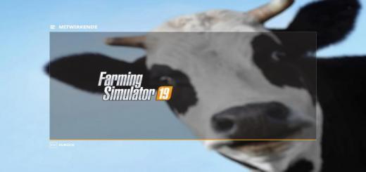 Photo of FS19 – Cow Background V1