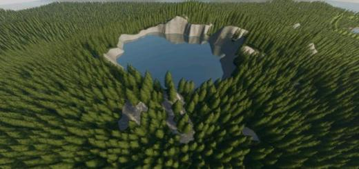 Photo of FS19 – Crater Lake Map V1.2