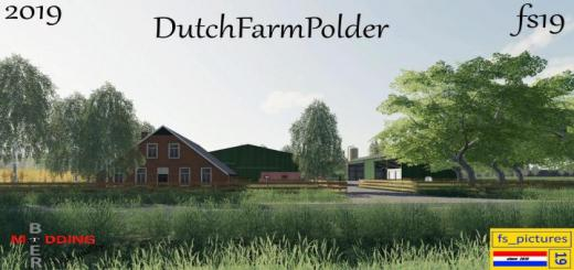 Photo of FS19 – Dutchfarmpolder Map V1.2