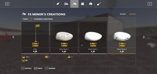 Photo of FS19 – Dynamic River Rock With Filltype V0.5