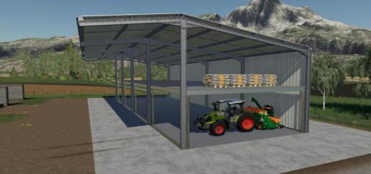 Photo of FS19 – Easy Sheds Pack V1