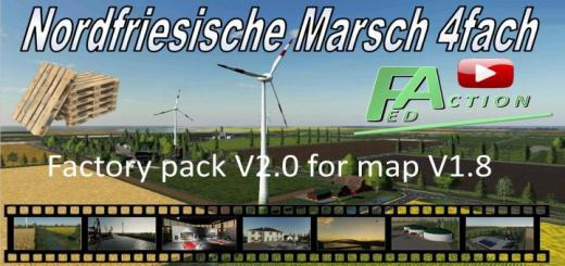 Photo of FS19 – Factory Pack For Nf Marsch 4Fach V2