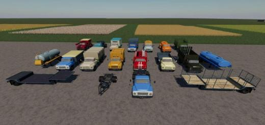 Photo of FS19 – Gaz-53 Module Pack V2.5.1