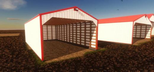 Photo of FS19 – Hay Shed Pack V1