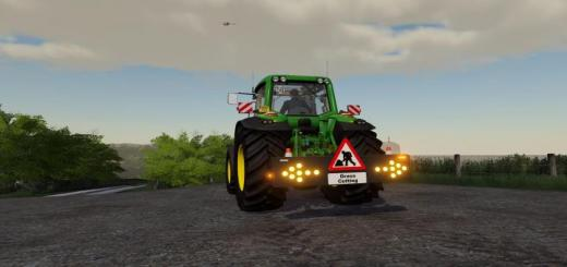 Photo of FS19 – Hedge/Grass Cutting Warning V1
