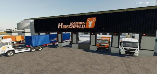 Photo of FS19 – Hirschfeld Logistics Globalmarket V1
