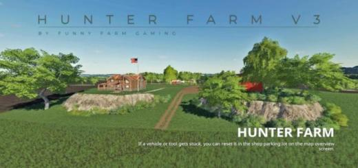 Photo of FS19 – Hunter Farm Map V3
