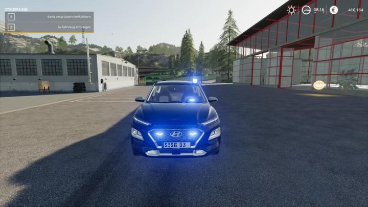 FS19 - Hyundai Kona 2018 Kripo V1.1