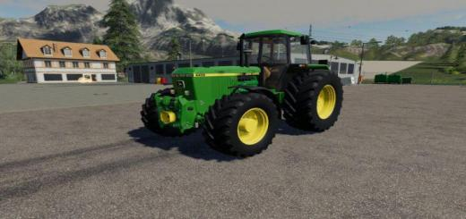 Photo of FS19 – John Deere 4X50 Tractor V1