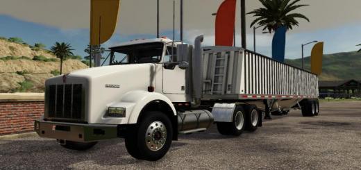 Photo of FS19 – Kenworth T800 Truck V1