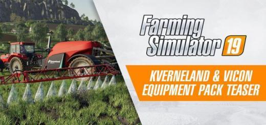 Photo of FS19 – Kverneland & Vicon Equipment Pack Teaser Trailer V1