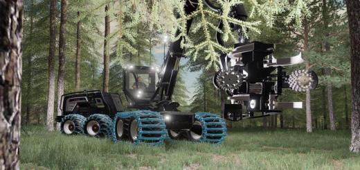 Photo of FS19 – Logset 8H Gte Hybrid V1