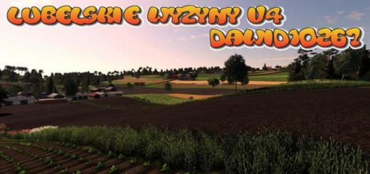 Photo of FS19 – Lubelskie Wyzyny Map V4