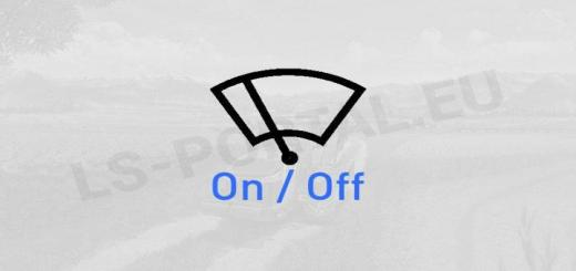Photo of FS19 – Manual Wipers V1