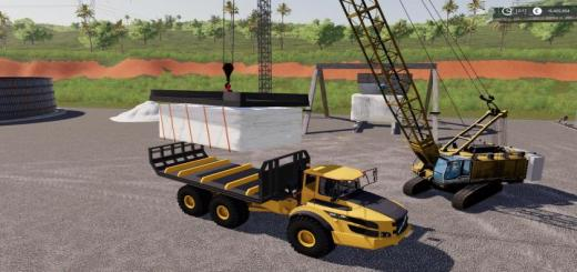 Photo of FS19 – Marble Traverse For Crane V0.5
